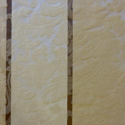 Dynastie Ornament Stripe | Curtain fabrics | Rasch Contract