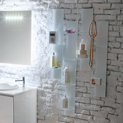 Domino AL348 | Bath shelving | Artelinea