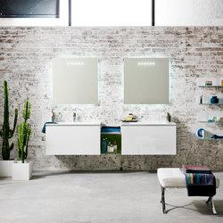 Domino AL347 | Wash basins | Artelinea