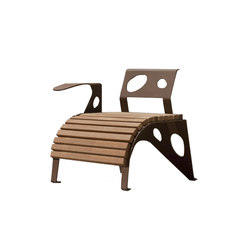 Green Palacio fauteuil | Sièges d'extérieur | CYRIA