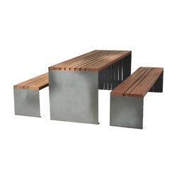 Pysa table | Benches with tables | CYRIA