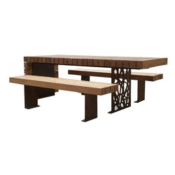 Migration table | Benches with tables | CYRIA