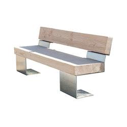 Bio 2 banc | Exterior benches | CYRIA