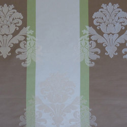 Minuet Ornament Stripe | Vorhangstoffe | Rasch Contract