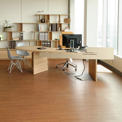 Curve Wood | Desk | Individual desks | Jo-a