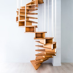 Olmo Spiral Staircase | Wood stairs | Jo-a