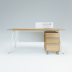 Vu Single office desk | Desks | Ergolain