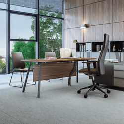 Vu Executive office desk | Executive desks | Ergolain
