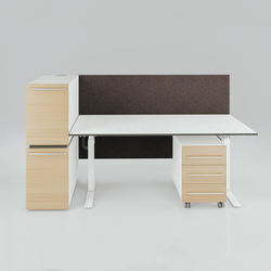 X-Ray Single workstation | Individual desks | Ergolain