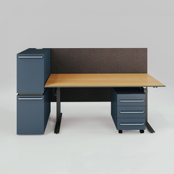 X-Ray Single workstation | Mesas contract | Ergolain