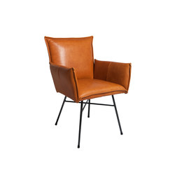 Sanne dining chair with arms | Restaurant chairs | Jess Design