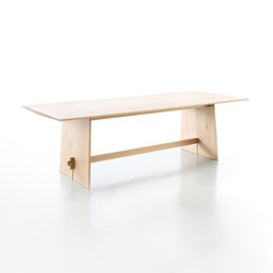 Tension Solid Oak table | Tavoli pranzo | conmoto