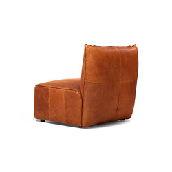 Vasa armchair without arms | Poltrone lounge | Jess Design