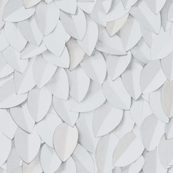 Front | Leaves | Bespoke | Eco Wallpaper