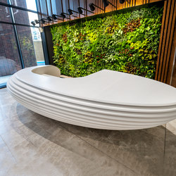Reception desk | Banques d'accueil | AMOS DESIGN