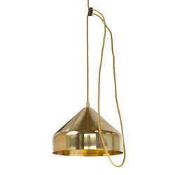 Lloop | brass polished | Pendelleuchten | Vij5