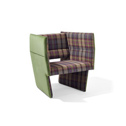Cup armchair | Poltrone lounge | Lampert
