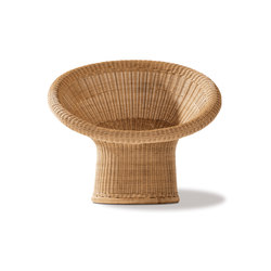E 10 rattan lounge chair | Garden armchairs | Richard Lampert