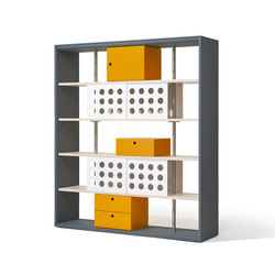 Frame shelving system | Estantería | Richard Lampert
