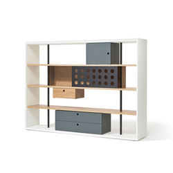 Frame shelving system | Office shelving systems | Richard Lampert