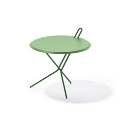 Hook folding table | Tables d'appoint de jardin | Lampert