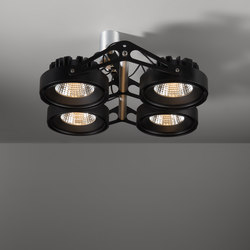 Nomad 111 4x LED GE | Faretti a soffitto | Modular Lighting Instruments
