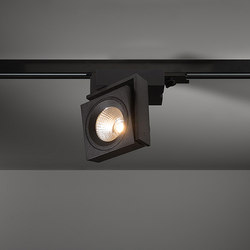 Single Square | Low voltage track lighting | Modular Lighting Instruments