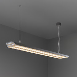 Vaeder suspension (power feed recessed) LED dali/pushdim/1-10V GI | General lighting | Modular Lighting Instruments