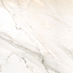 Touché Ice Blanco-Crema High-Gloss Polished 100x100 Rect | Slabs | INALCO