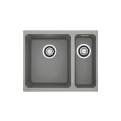 Kubus Sink KBG 160 Fragranite + Stone Grey | Kitchen sinks | Franke Home Solutions