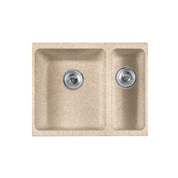 Kubus Sink KBG 160 Fragranite + Beige | Kitchen sinks | Franke Home Solutions