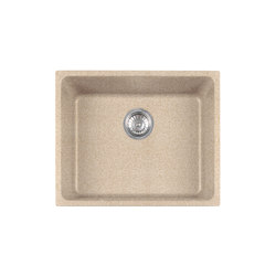 Kubus Sink KBG 110-50 Fragranite + Beige | Kitchen sinks | Franke Kitchen Systems