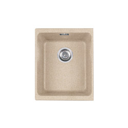 Kubus Sink KBG 110-34 Fragranite + Beige | Kitchen sinks | Franke Kitchen Systems