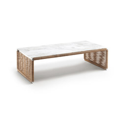 Tindari Rectangular Small Table | Tables basses | Flexform