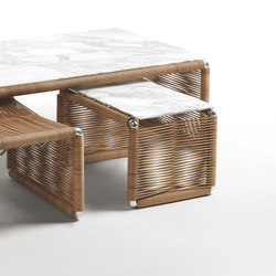Tindari Rectangular Small Table | Mesas auxiliares | Flexform