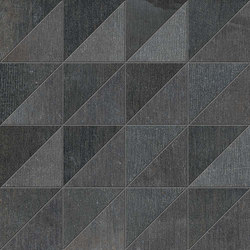 All Dark Mosaico | Floor tiles | Ceramiche Supergres