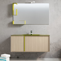 Tratto 120 | Bath shelves | Milldue