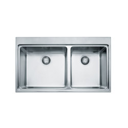 Mythos Sink MTX 220 Stainless Steel | Kitchen sinks | Franke Home Solutions