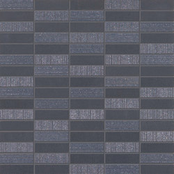 Flow dark mosaico | Ceramic tiles | Ceramiche Supergres