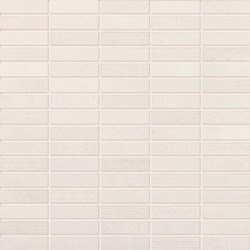 Flow white mosaico | Ceramic tiles | Ceramiche Supergres