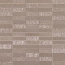 Flow tan mosaico | Ceramic tiles | Ceramiche Supergres