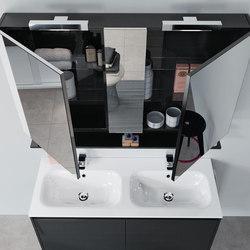 Infinito 120 doppio | Meubles sous-lavabo | Milldue