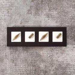 Arreda square⎟4 switches | Interruptores rotatorios | Gi Gambarelli