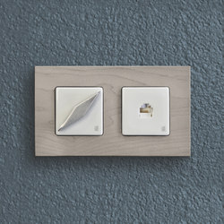 Arreda square⎟double switch | Drehschalter | Gi Gambarelli