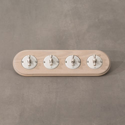 Arreda round⎟4 switches | Rotary switches | Gi Gambarelli