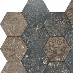 Mosaico Esagona dek steel | Ceramic mosaics | Ceramiche Supergres
