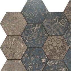 Mosaico Esagona Dek Steel | Mosaïques | Ceramiche Supergres