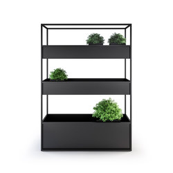 Planter Carl 1400 3 Boxes | Fioriere | Röshults