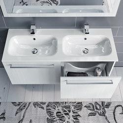 Lato 120 doppio | Waschtischunterschränke | Milldue