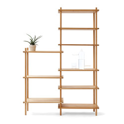 Le Belge System example set 9 levels | Shelving systems | Vij5